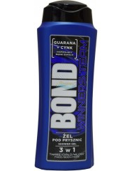 Bond Winners Team Żel pod Prysznic 3-w-1 dla Mężczyzn 400 ml