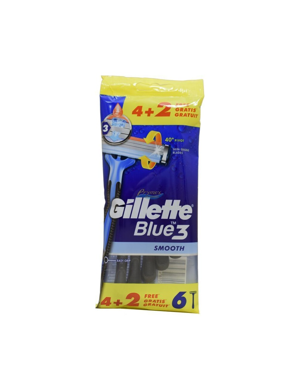 Gillette Blue 3 Smooth Maszynki do Golenia 6 szt