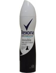 Rexona Invisible Antyperspirant w Sprayu dla Kobiet 150 ml