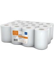 Ellis Professional R60-2 Ręcznik Papierowy Biały 1 rolka – wys. 19 cm, 2 warstwowy, 100% celuloza
