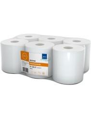 Ellis Professional Supermatic R120-2 Ręcznik Celulozowy Biały 2-warstwowy (6 rolek)