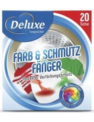 Deluxe Farb & Schmutz Fänger Niemieckie Chusteczki Wyłapujące Kolory 20 szt