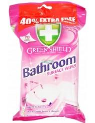 Green Shield Bathroom Angielskie Chusteczki do Czyszczenia Łazienki 70 szt