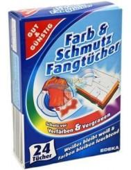 Gut & Günstig Farb & Schmutz Fangtücher Niemieckie Chusteczki Wyłapujące Kolor 24 szt