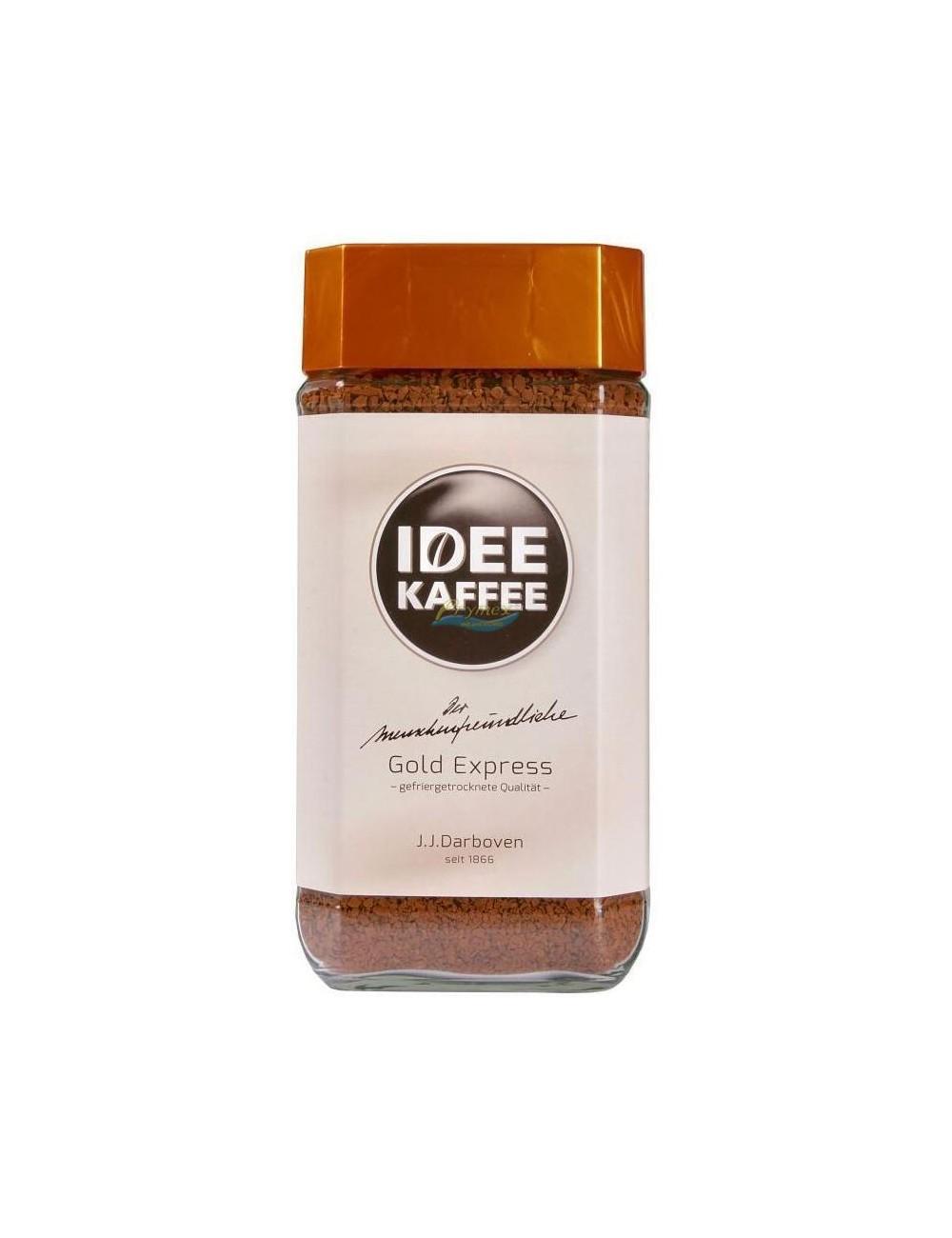Idee Kaffee Gold Express Kawa Rozpuszczalna w Słoiku 200 g