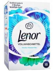 Lenor Weisse Wasserlilie Niemiecki Proszek do Prania Białych Tkanin 1170 g (18 prań)