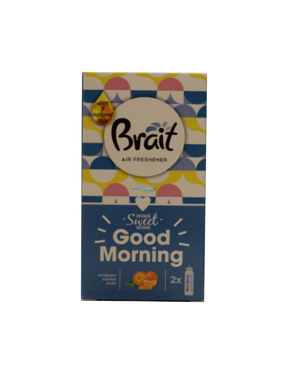Brait Good Morning Odświeżacz Powietrza Mini Spray Zapas (2 x 10 ml) 1 szt