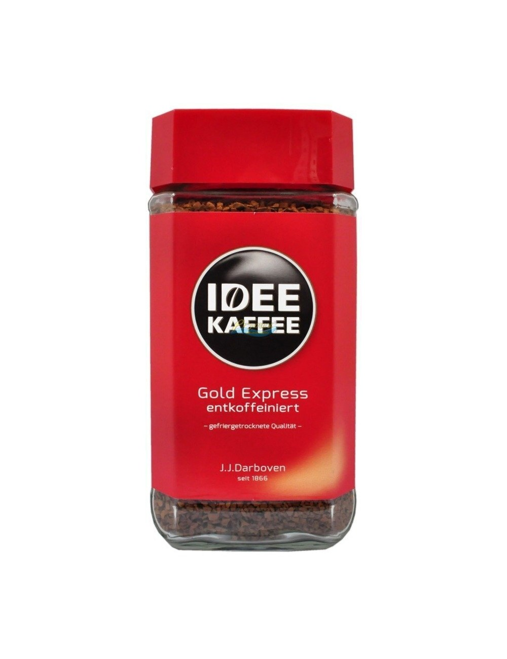Idee Gold Expres Kawa Bezkofeinowa Rozpuszczalna w Słoiku 200 g