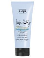 Ziaja Jeju Młoda Skóra Czarny Peeling Myjący do Ciała Drobnoziarnisty 200 ml