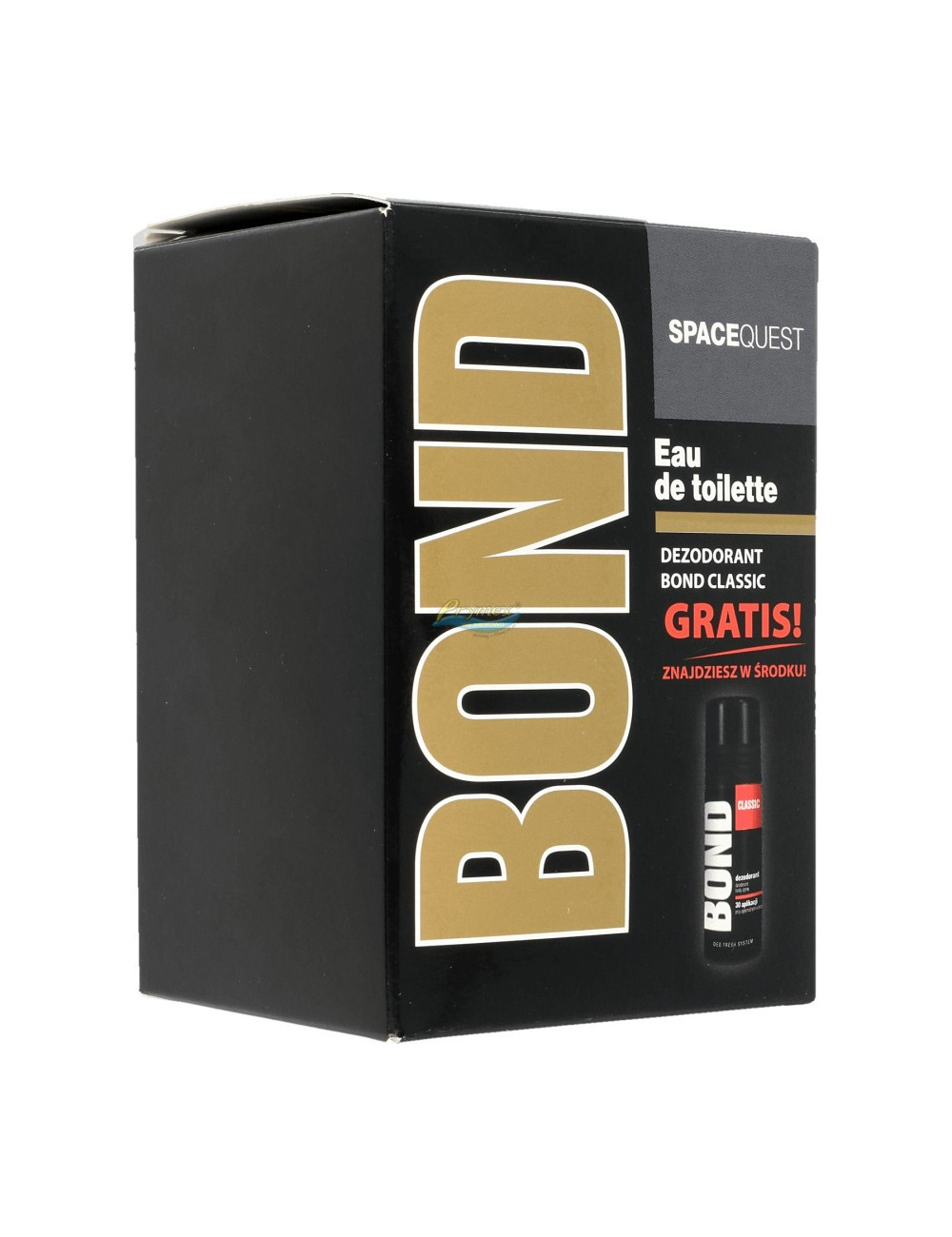 Bond Space Quest Woda Toaletowa 100 ml + Gratis Dezodorant Bond Classic 50 ml
