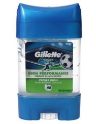 Gillette Sport Power Rush Męski Dezodorant w Żelu 70 ml