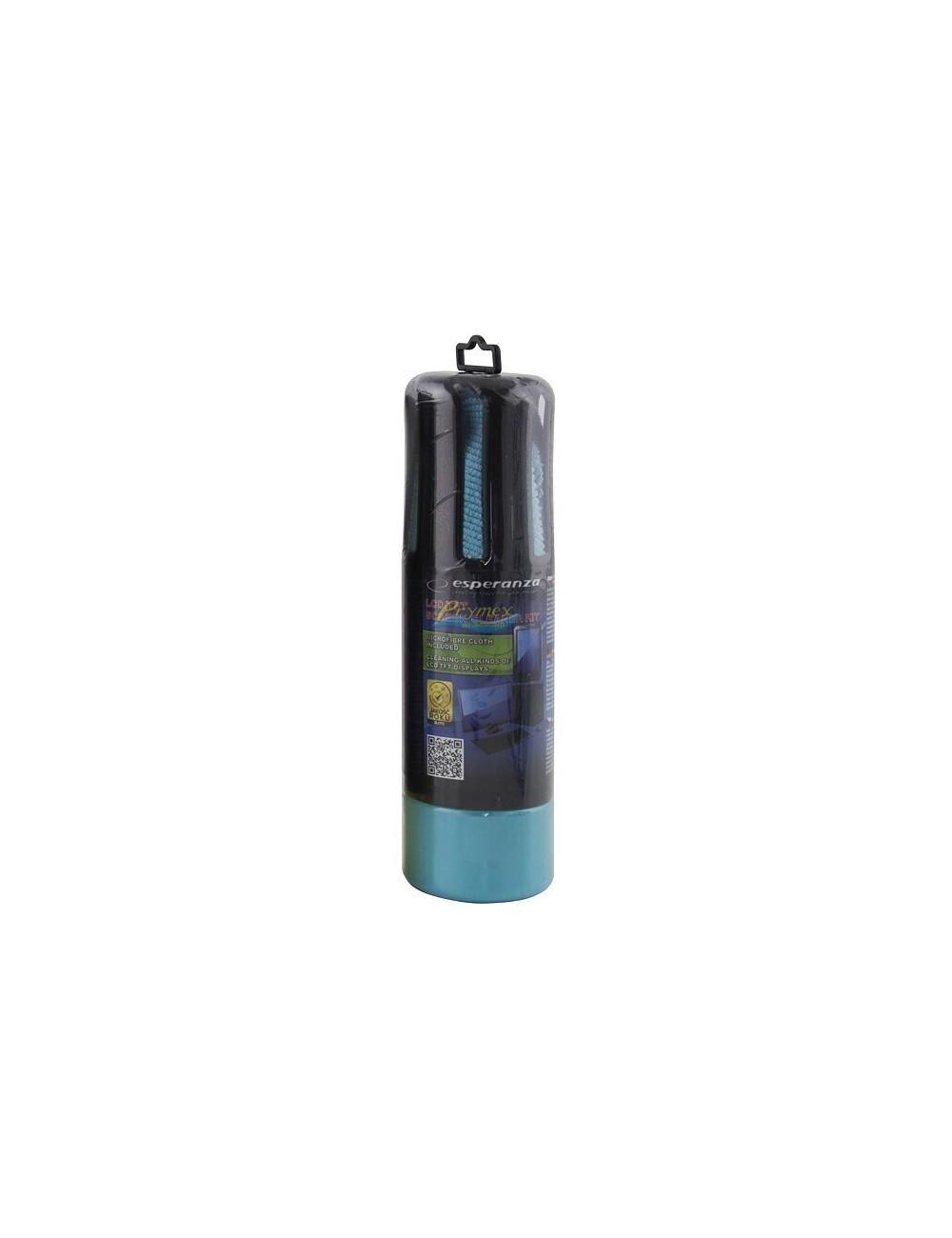 Esperanza Zestaw do Czyszczenia Wyświetlaczy Ciekłokrystalicznych (żel 150 ml + ściereczka) 1 szt
