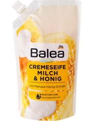 Balea Milch & Honig Niemieckie Mydło w Płynie Zapas Mleko i Miód 150 g