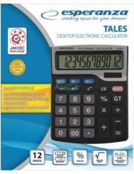 Esperanza Tales Duży Kalkulator Elektroniczny Biurkowy 1 szt