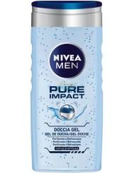 Nivea Men Pure Impact Włoski Żel pod Prysznic dla Mężczyzn 250 ml