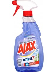 Ajax Optimal-7 Windows & Shiny Surfaces Płyn do Szyb 500 ml