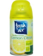 Fresh Air Mediterranean Lemon Citrus Angielski Odświeżacz Powietrza Zapas 250 ml