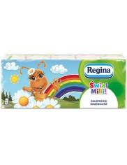 Regina Chusteczki Higieniczne Zapachowe Świat Milli (10x9 szt)