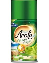 General Fresh Arola 4-w-1 Zielona Rozkosz Wkład do Automatycznego Odświeżacza Powietrza 250 ml