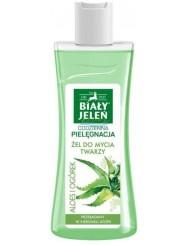 Biały Jeleń Codzienna Pielęgnacja Żel do Mycia Twarzy Aloes i Ogórek 265 ml