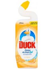 Duck Deep Action Gel Żel do Czyszczenia i Dezynfekcji Toalet Cytryna 750 ml