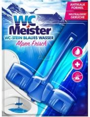 WC Meister Alpen Frisch Niemiecka Zawieszka do WC Barwiąca Wodę 45 g
