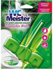 WC Meister Tropischer Wald Niemiecka Zawieszka do WC Barwiąca Wodę 45 g