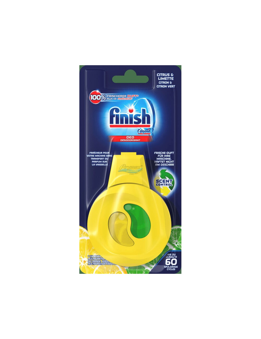 Finish Citrus & Limette Niemiecki Zapach do Zmywarki 4 ml