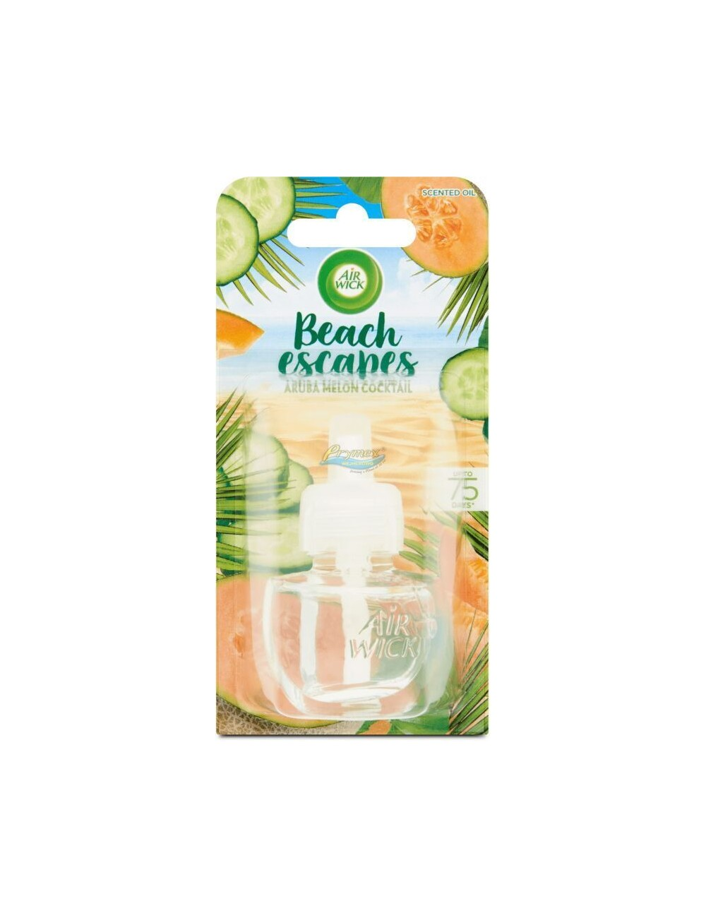 Air Wick Beach Escapes Wkład do Elektrycznego Odświeżacza Powietrza Melonowy Koktaj z Aruby 19 ml