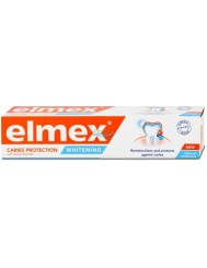 Elmex Whitening Caries Protection Naturalna Biel Pasta do Zębów z Fluorem 75 ml