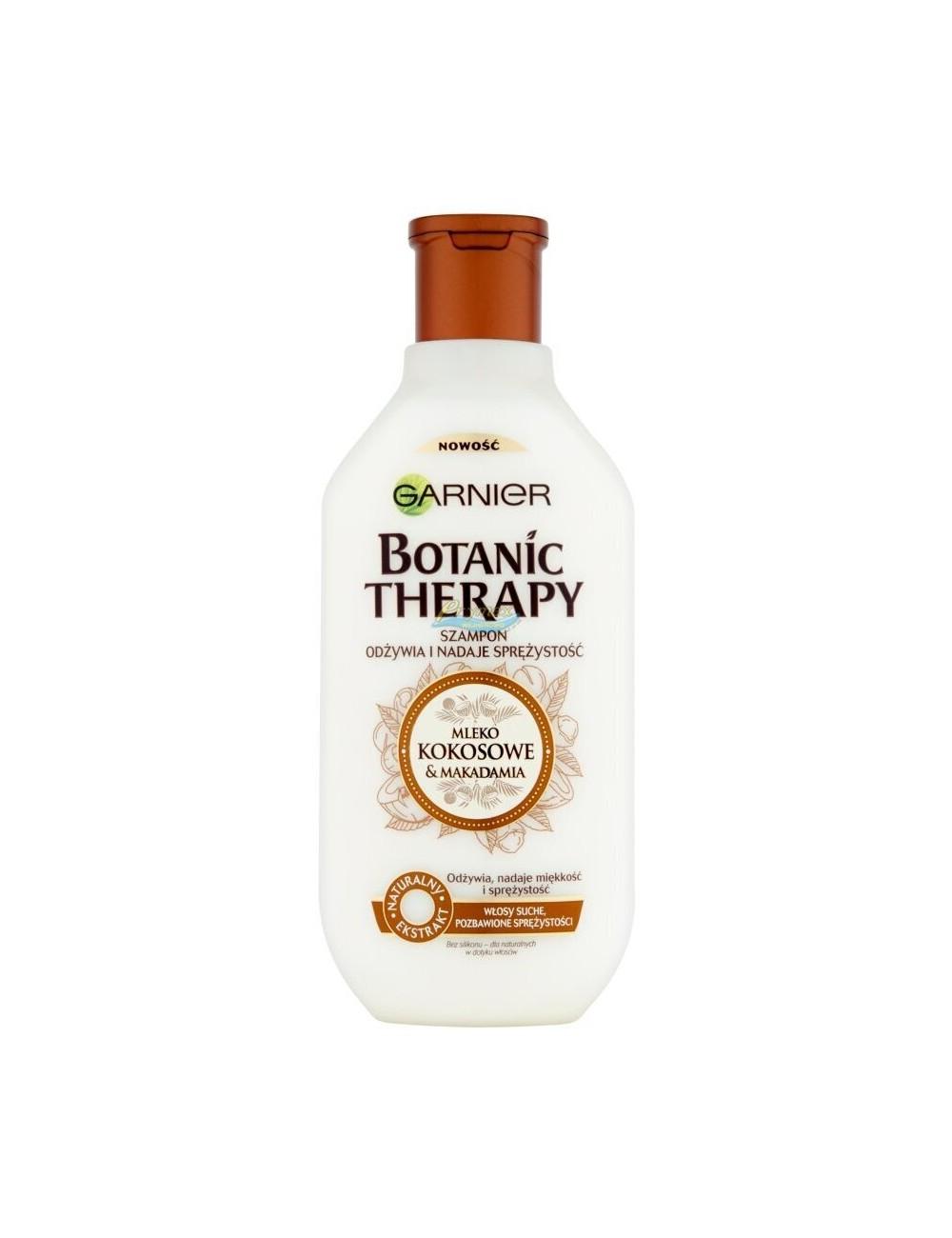 Garnier Botanic Therapy Szampon z Mlekiem Kokosowym i Makadamią 400 ml