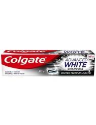 Colgate Advanced White Charcoal Pasta do Zębów Wybielająca z Aktywnym Węglem 100 ml