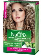 Joanna Naturia Loki Płyn do Trwałej Ondulacji do Włosów Normalnych 75 ml + Utrwalacz 75 ml