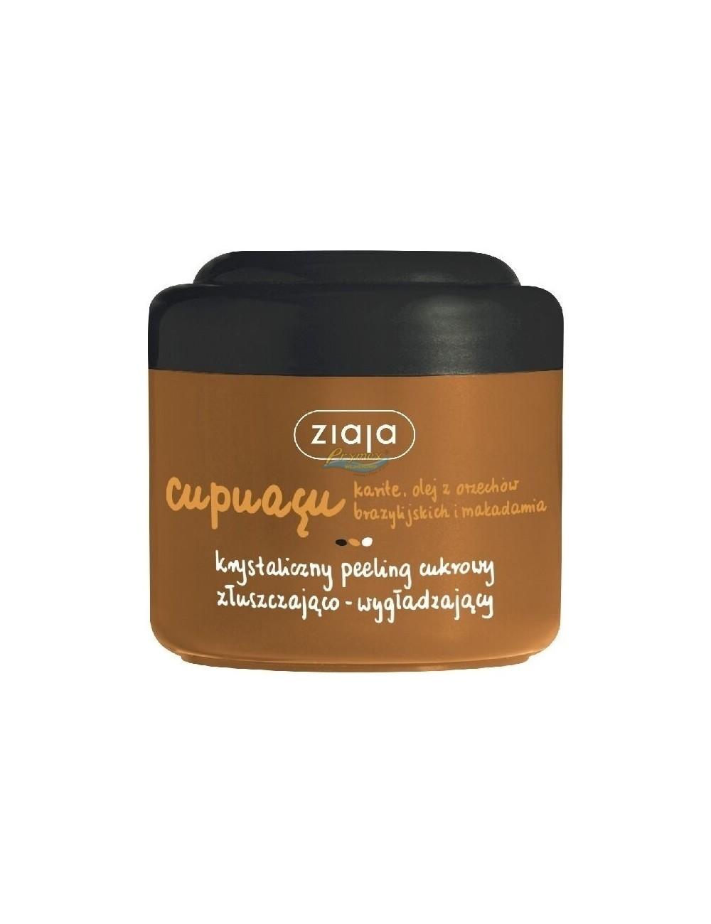 Ziaja Cupuacu Krystaliczny Peeling Cukrowy Złuszczająco-Wygładzający 200 ml
