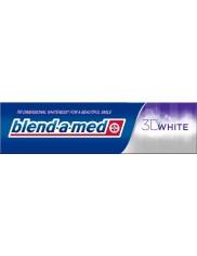 Blend-a-med 3D White 100ml – wybielająca pasta do zębów