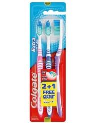 Colgate Szczoteczki do Zębów Extra Clean (średnie) 3 szt