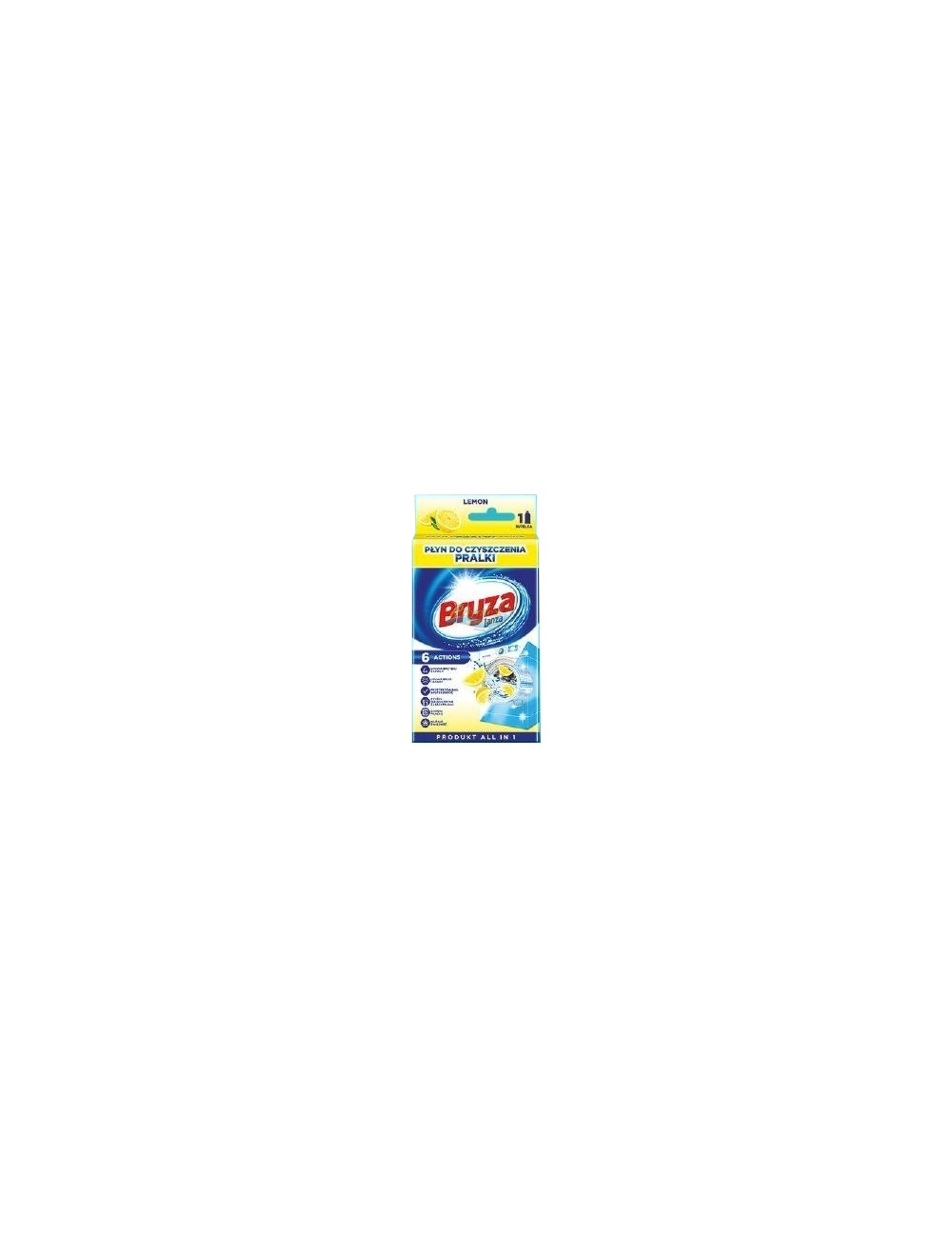 Bryza Płyn do Czyszczenia Pralki Cytryna 250 ml