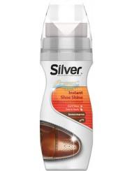 Silver Pasta w Płynie do Obuwia i Akcesoriów ze Skóry Brązowa 75 ml