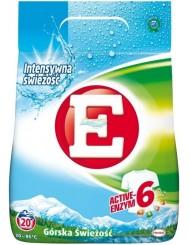 E Proszek do Prania Tkanin Białych Górska Świeżość 1,3 kg (20 prań)