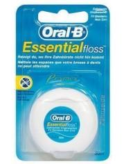 Oral-B Nić Dentystyczna Woskowana Essential Floss (50 metrów) 1 szt (DE)
