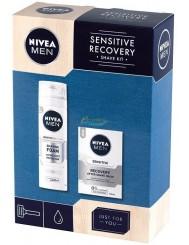 Nivea Zestaw Męski Sensitive Recovery – pianka do golenia 200 ml + balsam po goleniu 100 ml