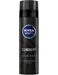Nivea Pianka do Golenia dla Mężczyzn Deep 200 ml (DE)