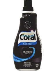 Coral Żel do Prania Tkanin Czarnych Black Velvet 1,1 L (22 prania) (DE)