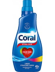 Coral Żel do Prania Tkanin Kolorowych Optimal Color 1,1 L (22 prania) (DE)