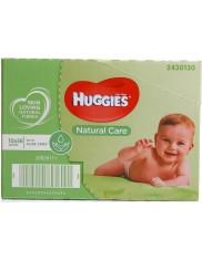 Huggies Chusteczki Nawilżane z Aloesem dla Dzieci w Kartonie Natural Care (10 x 56 szt) (UK)