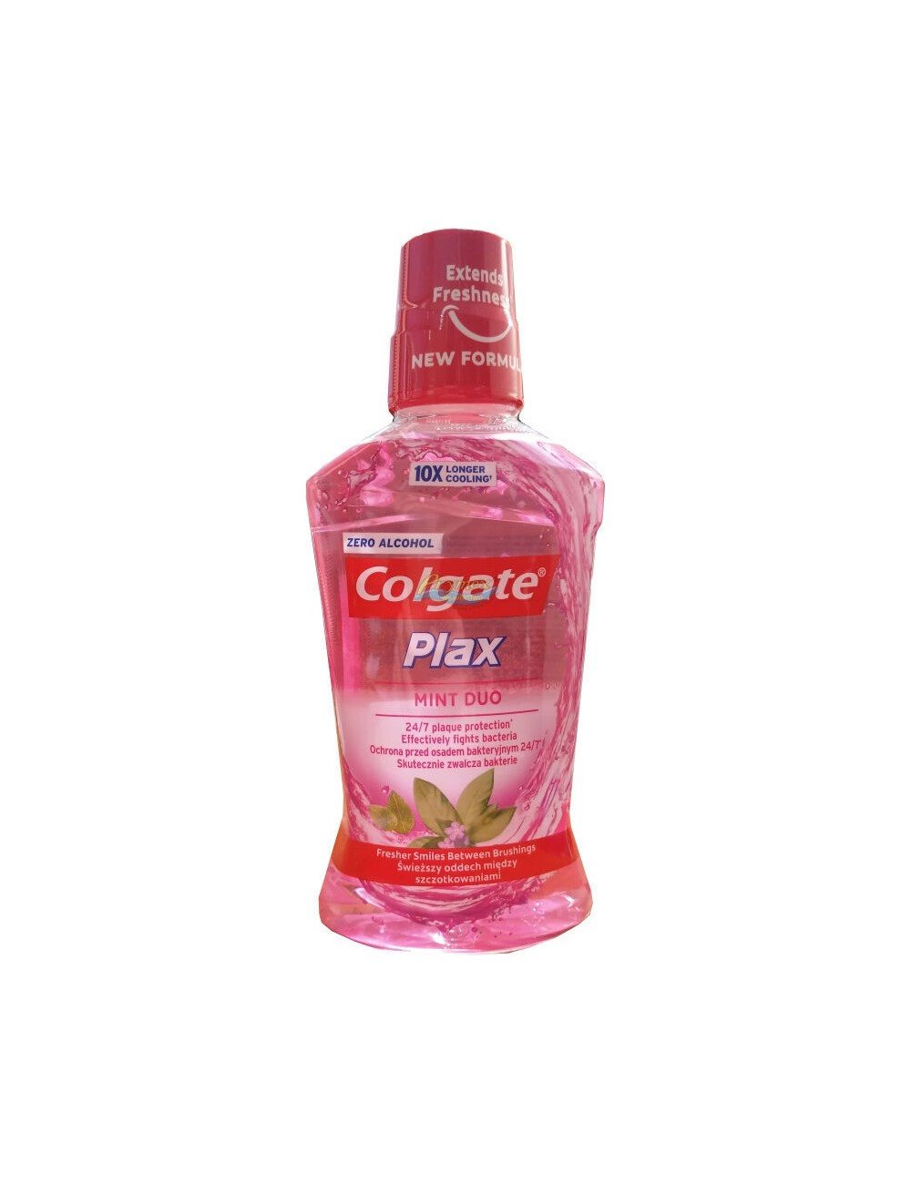 Colgate Płyn do Płukania Jamy Ustnej Plax Mint Duo 500 ml