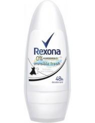 Rexona Dezodorant Kulka dla Kobiet Invisible Fresh 50 ml