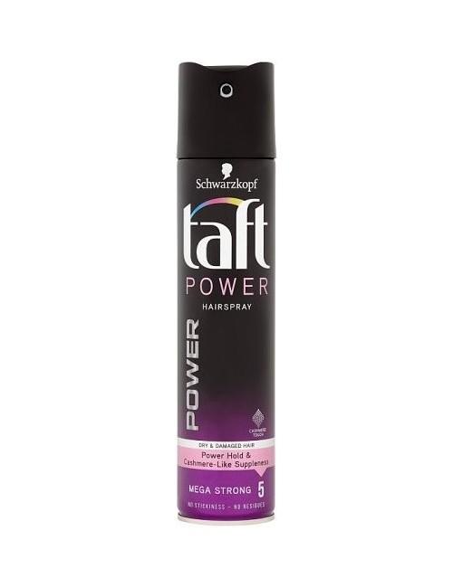 Taft Lakier do Włosów Power Megamocny 5 Kaszmirowa Miękkość 250 ml