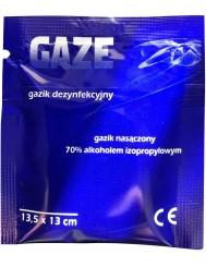 Gazik Dezynfekcyjny Nasączony 70% Alkoholem Izopropylowym (13,5 x 13 cm) 1 szt
