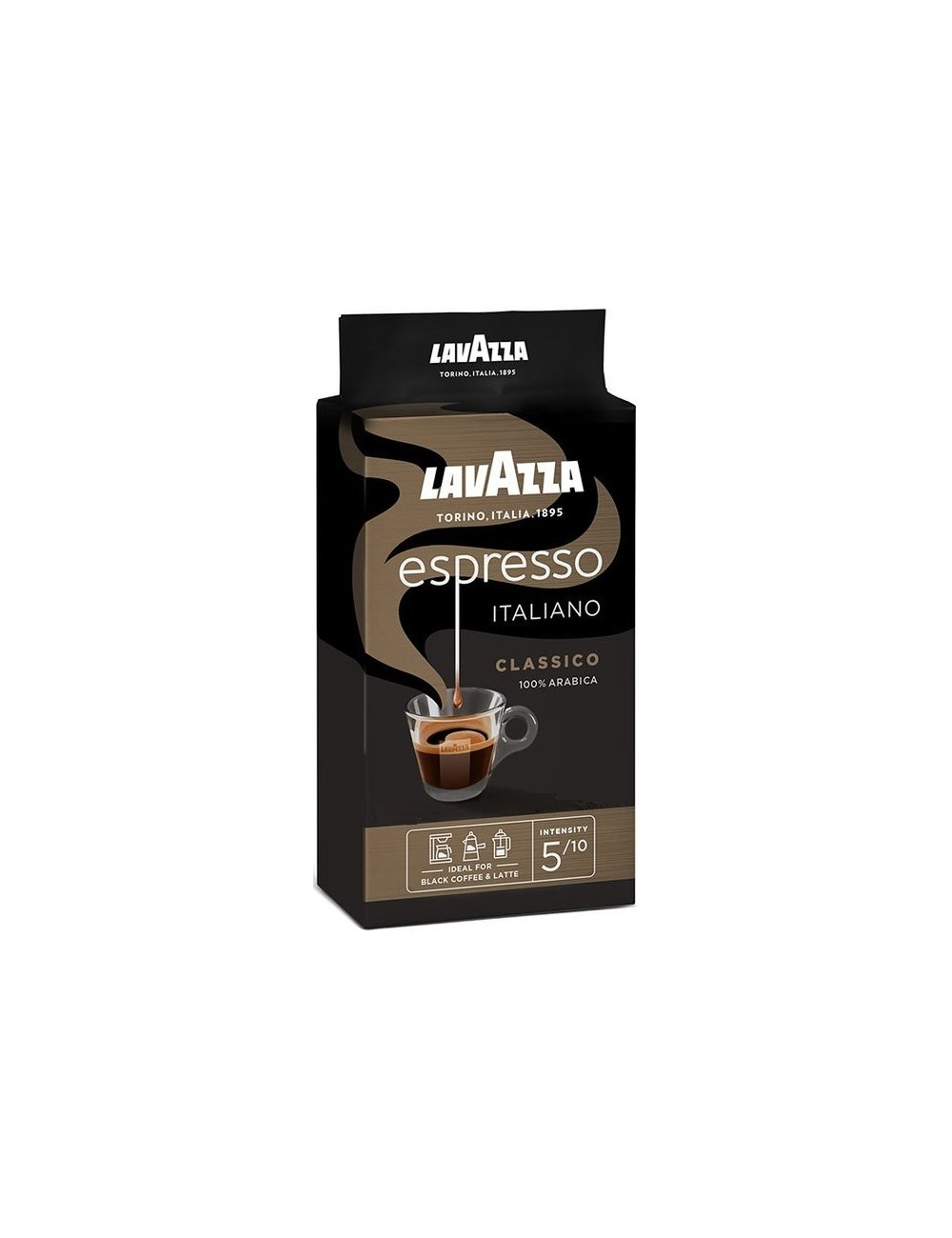 Lavazza Caffe Espresso Kawa Mielona Palona 250 g